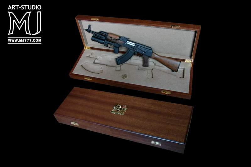 Кейс из дерева для ружья